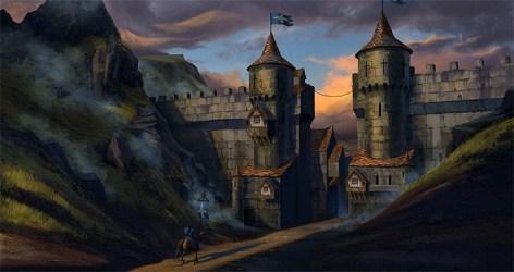 concept medieval journey castle end artwork bridge towns inspiration interior environment gates buildings borough