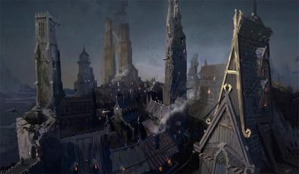 medieval concept slums artwork environment towns buildings inspiration conceptartempire