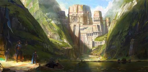 concept journey grimmer medieval jordangrimmer jordan environment fantasy painting deviantart towns bezoeken inspiration