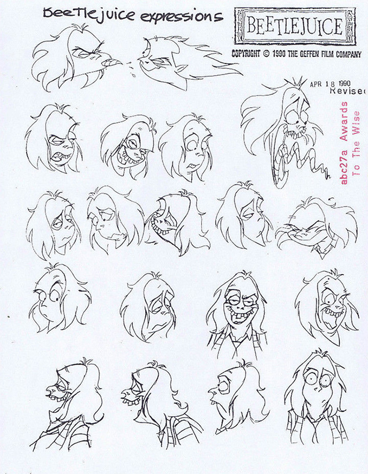 100+ Character Model Sheets From Animation History