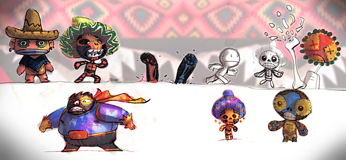 LittleBigPlanet Concept Art  CG Daily News