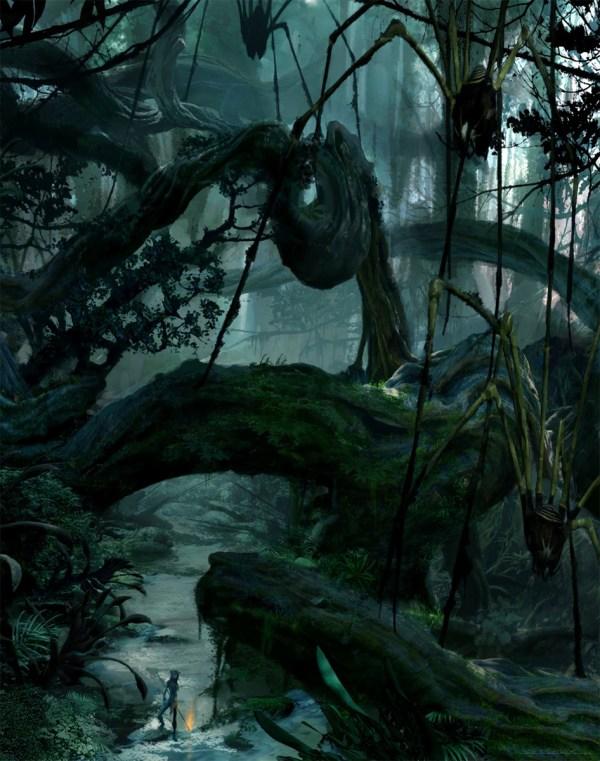 Avatar Concept Art Seth Engstrom World