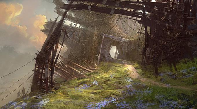 Guild Wars 2 Concept Art by Levi Hopkins  Concept Art World