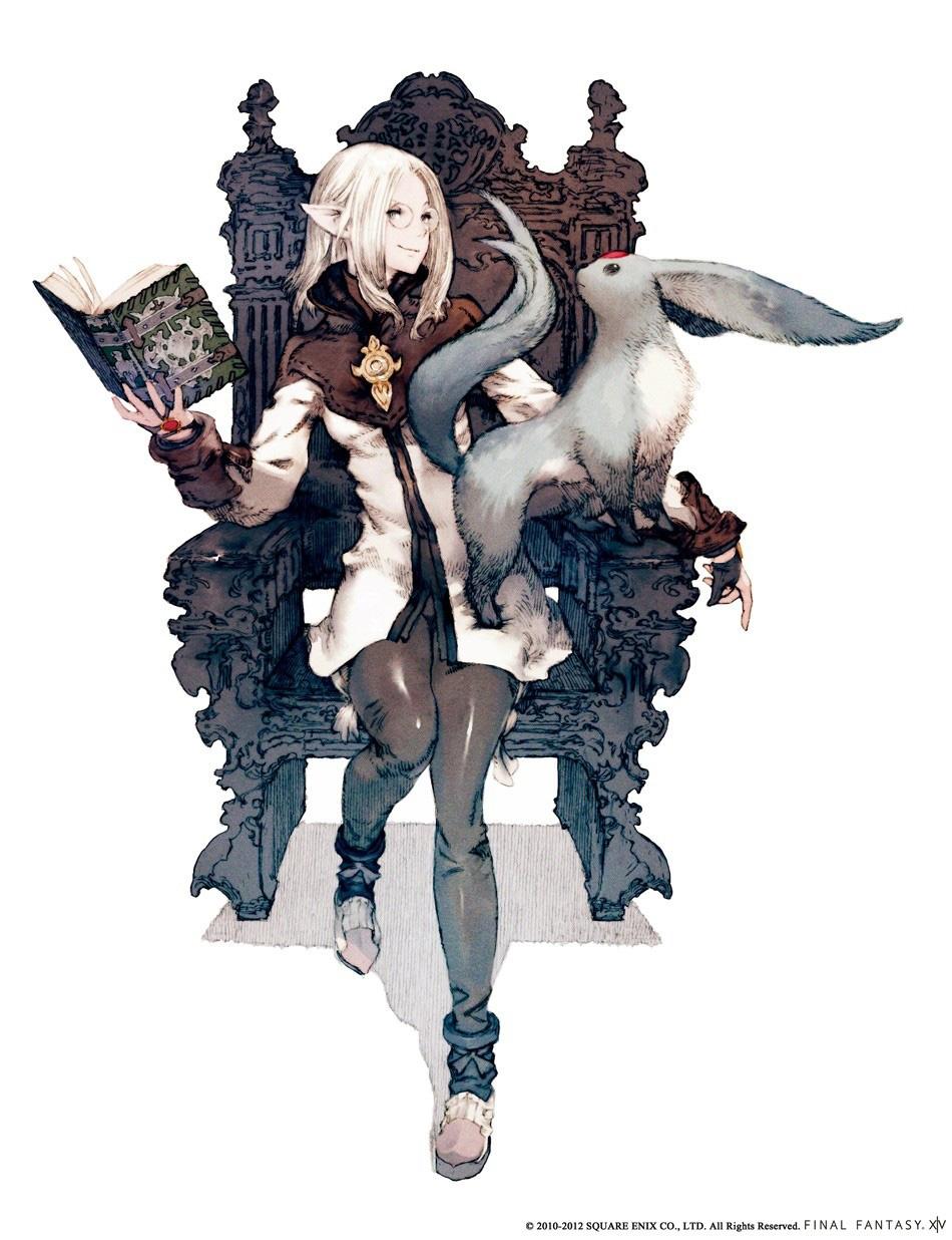 Final Fantasy XIV A Realm Reborn Concept Art And