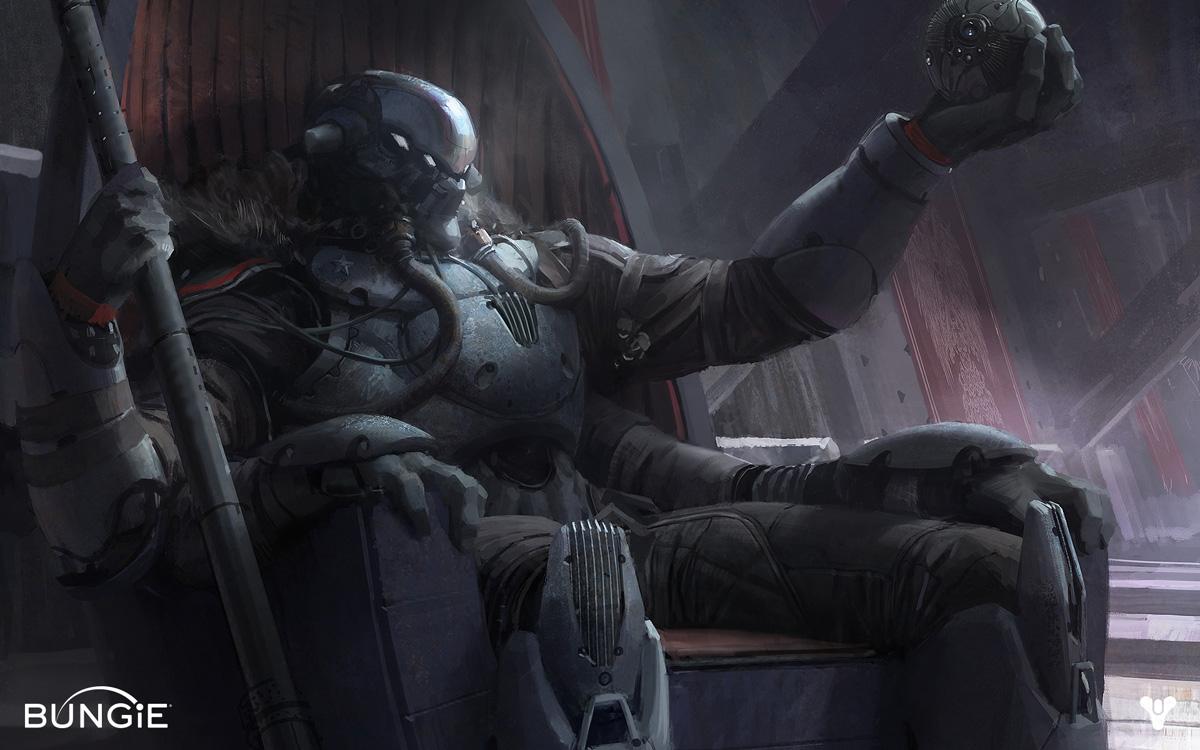 Destiny Character Development And Concept Art Concept