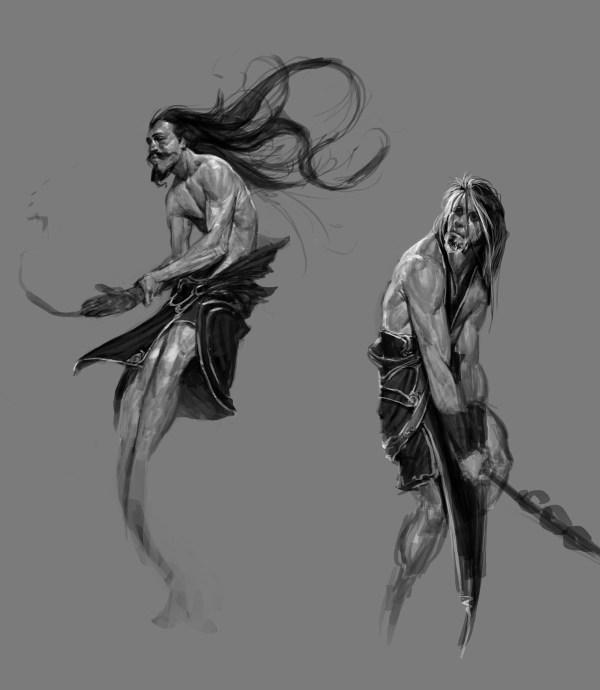 God of War Ascension Character Concept Art