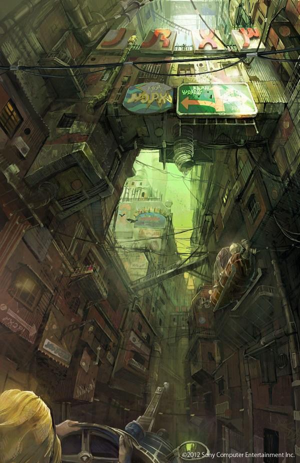 Futuristic Cities Concept Art