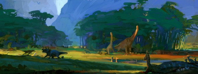 Avengers Animated Wallpaper Concept Art And Illustrations Of Dinosaurs I Concept Art