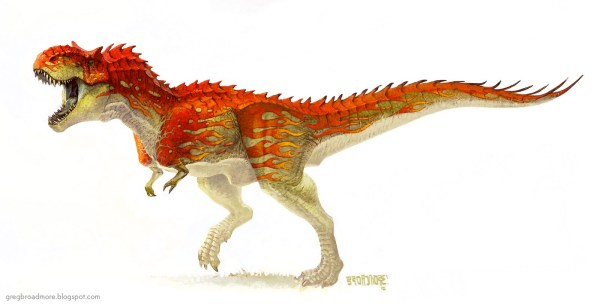Concept Art And Illustrations Of Dinosaurs