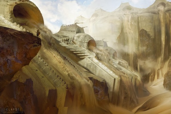 Project Elapse Concept Art Levi Hopkins World