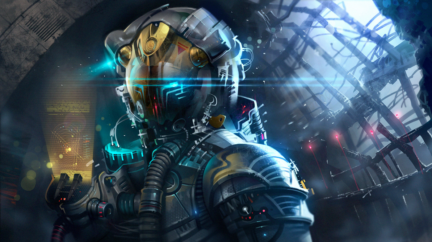 Futurist Anime Girl Wallpaper 39 Concept Art And Illustrations Of Astronauts Concept