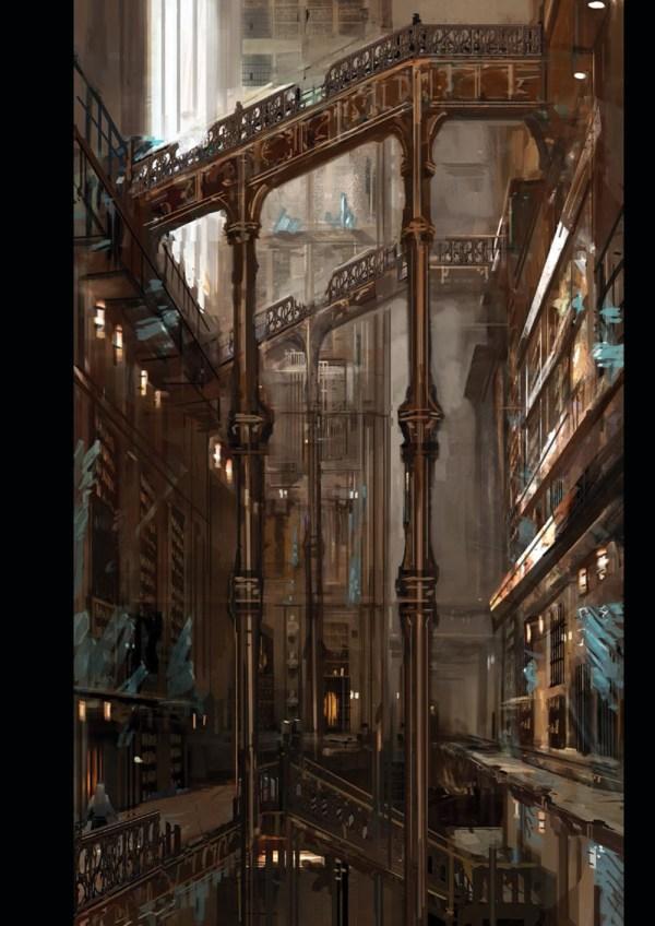 Dark Souls Design Works Concept Art World