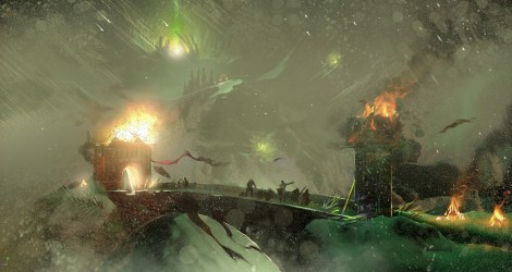 Dragon Age: Inquisition Environment Concept Art Concept Art World