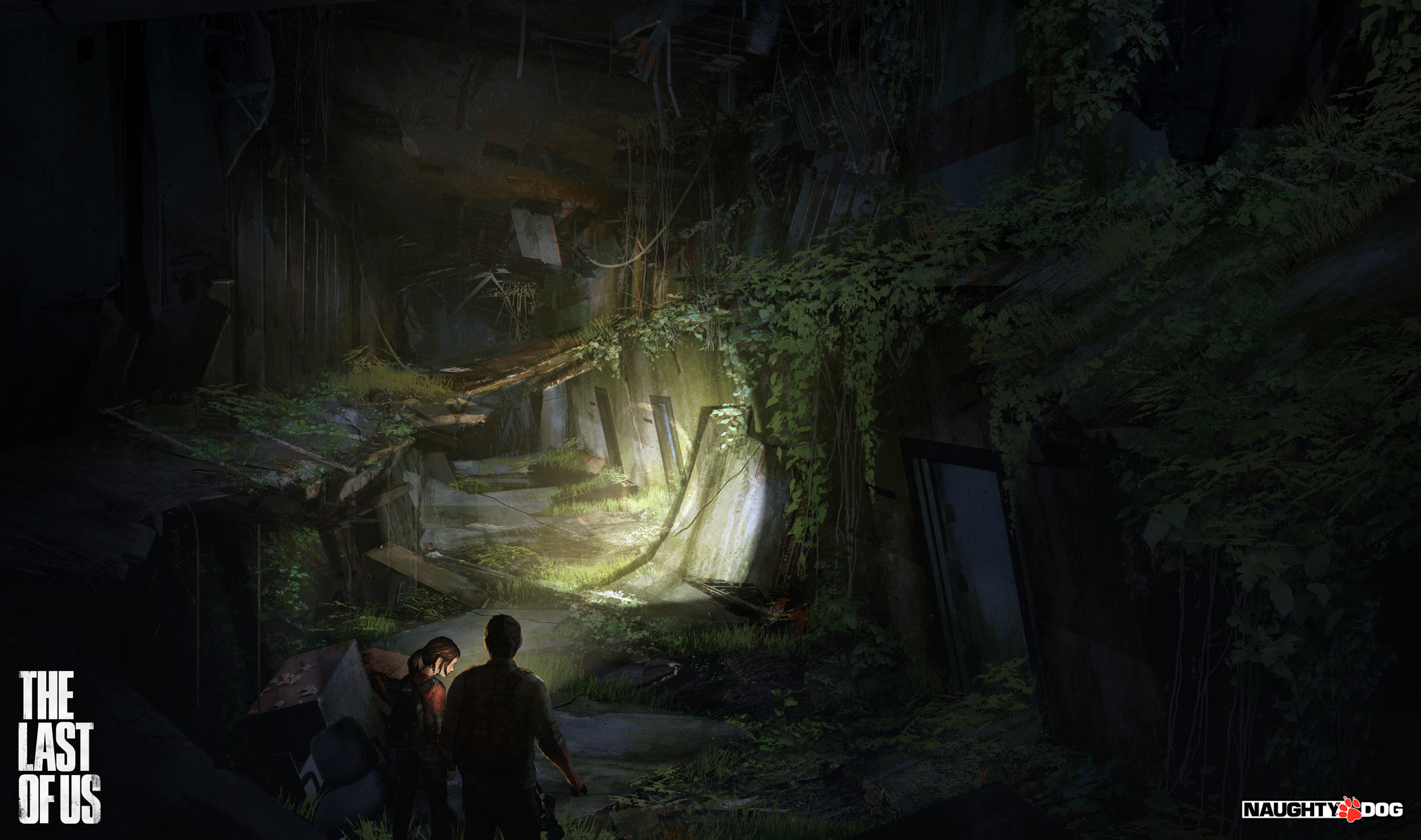 The Last of Us Concept Art by John Sweeney  Concept Art World