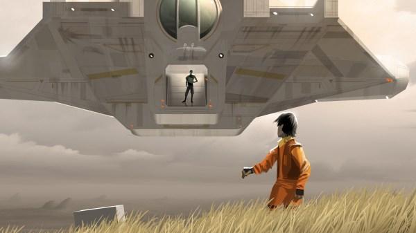 Wondercon 2014 Star Wars Rebels Panel Concept Art