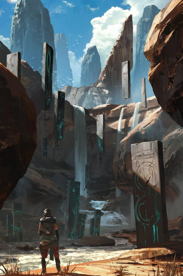 Ryan Gitter Concept Art World