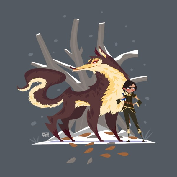 Stark Game of Thrones Concept Art