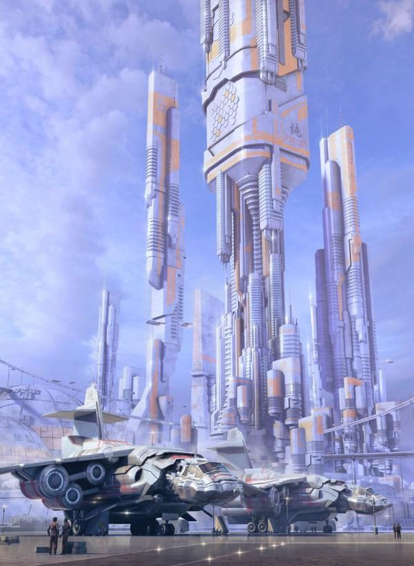 Stefan Morrell Concept Art World