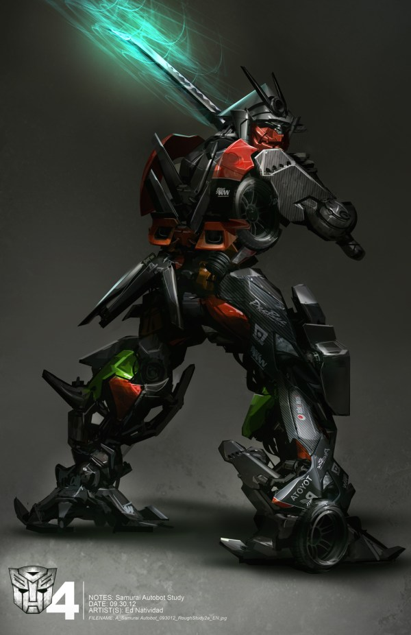 Transformers Age Of Extinction Concept Art Ed