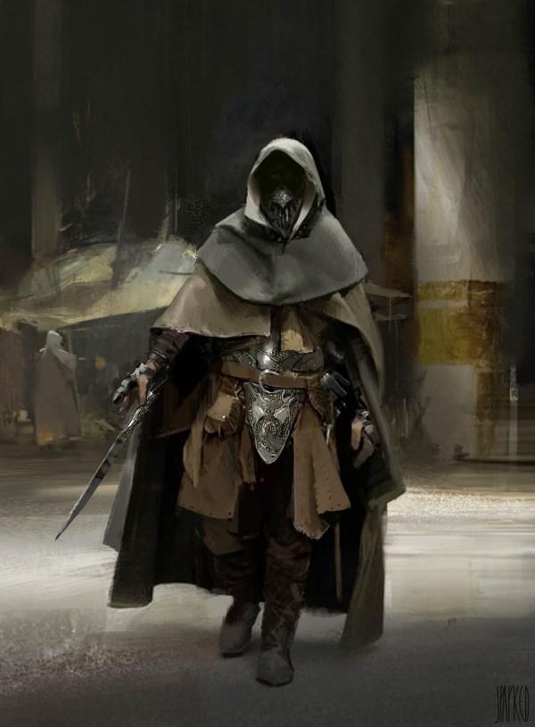 Assassins And Warrior Concept Art John . Park World