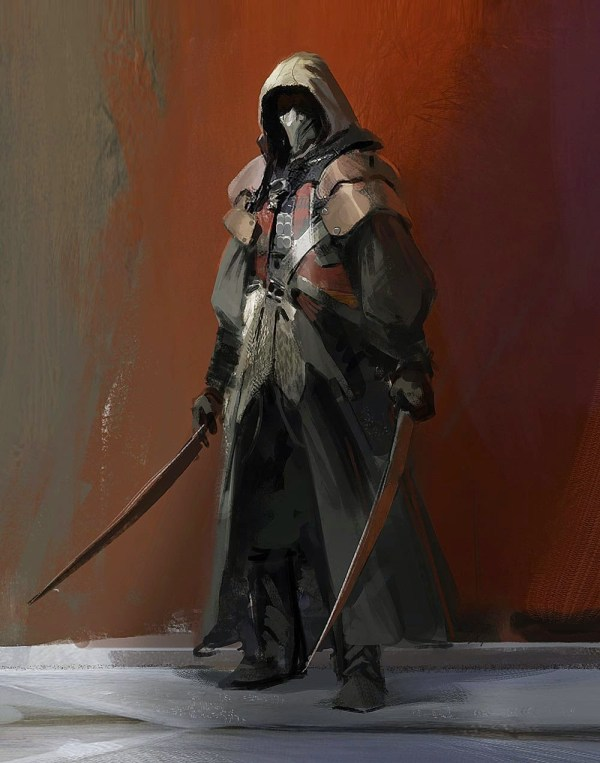 Concept Art Warrior Assassin