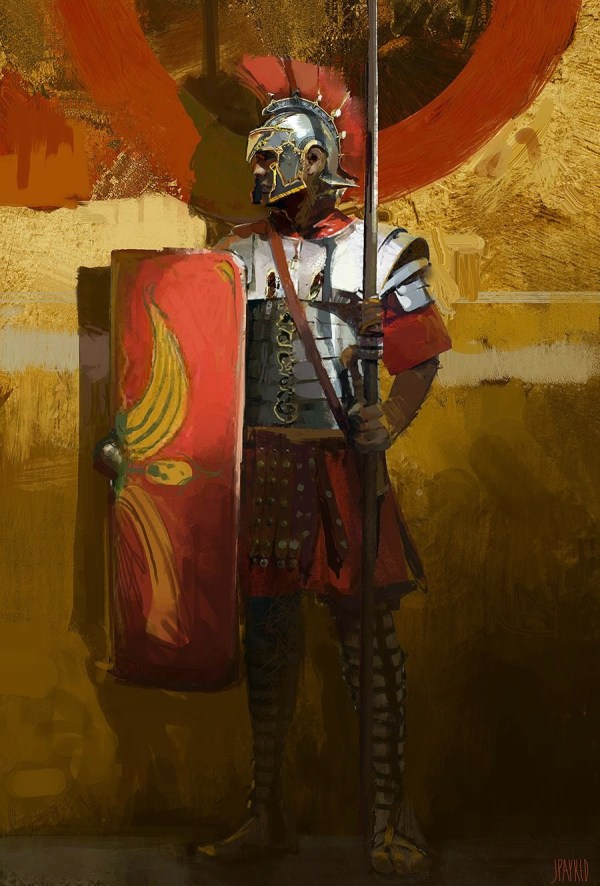 Roman Warrior Concept Art