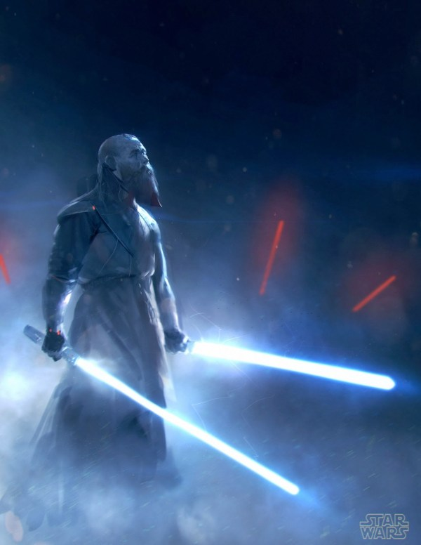 Star Wars Jedi Concept Art