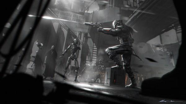 Star Wars Concept Art And Illustrations Gustavo
