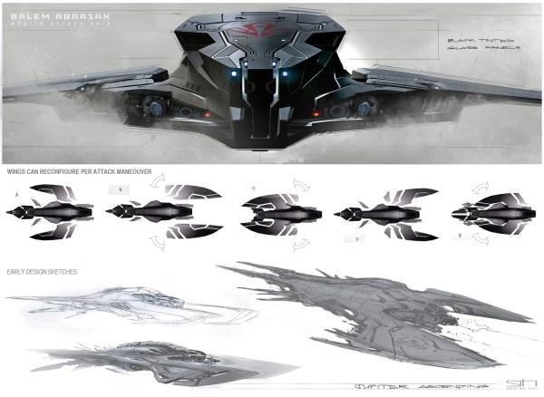 Jupiter Ascending Concept Art George Hull