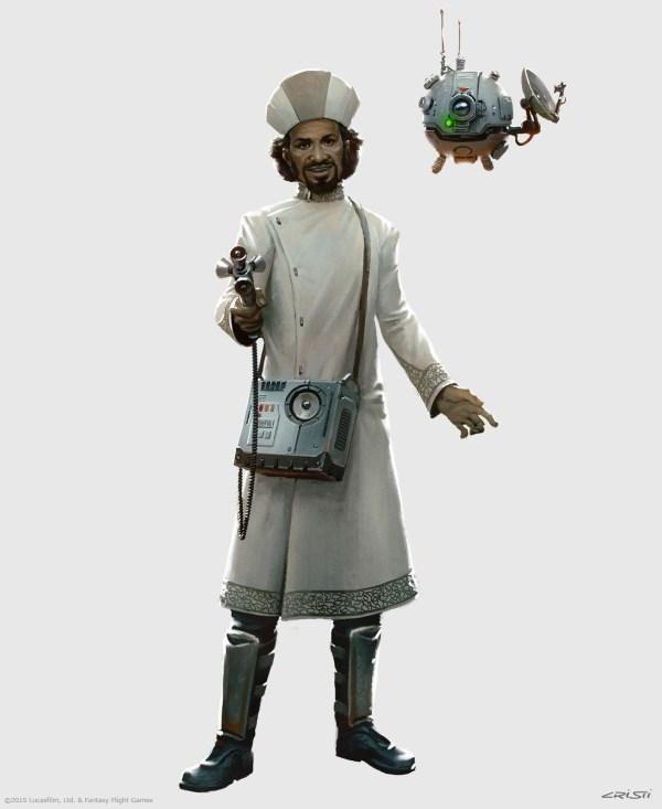 Star Wars RPG Character Art