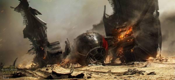 Star Wars Force Awakens Concept Art Andr Wallin