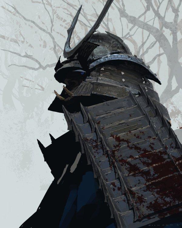 Samurai Concept Art And Illustration World