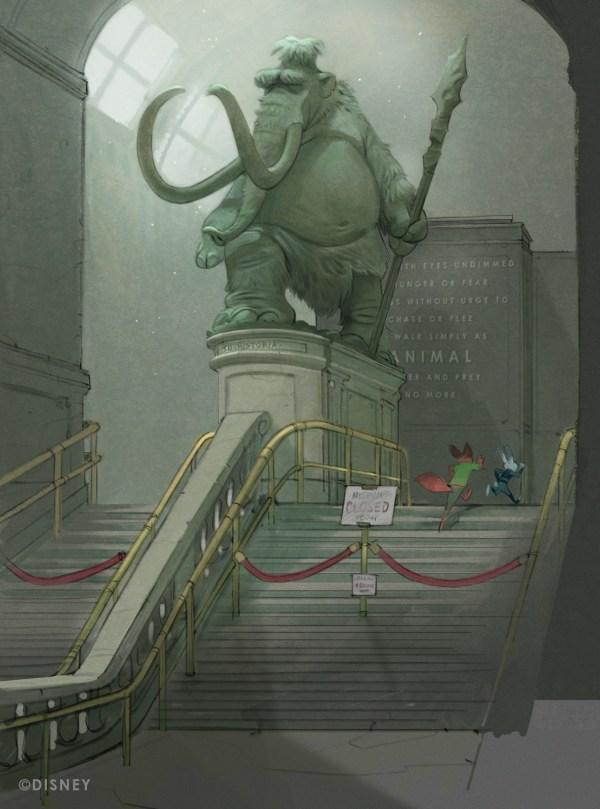 Disney Zootopia Concept Art