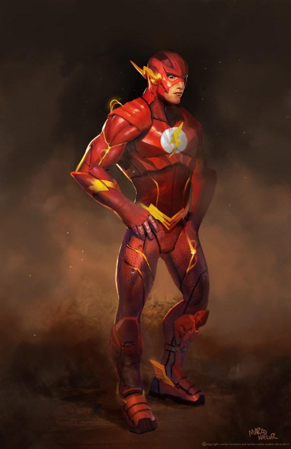 Flash Injustice Concept Art