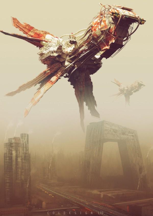 Science Fiction Concept Art