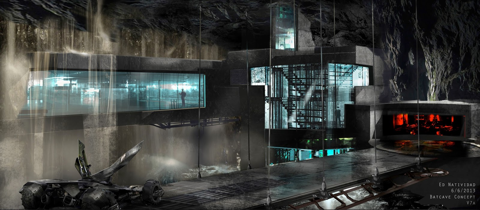 Batman v Superman Dawn of Justice Concept Art by Ed