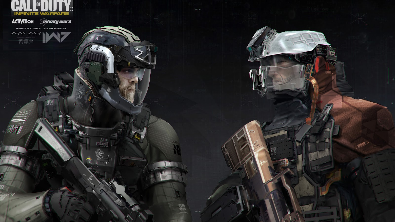 Call of Duty Infinite Warfare Concept Art by Aaron Beck