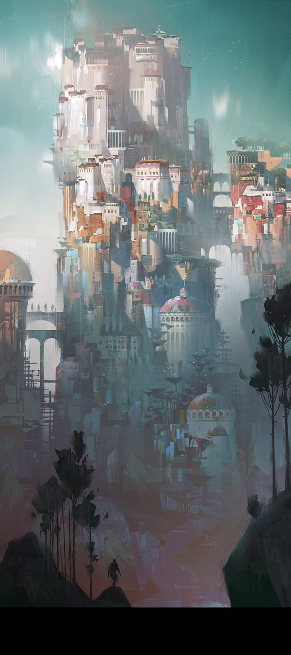 Ivan Laliashvili Concept Art World
