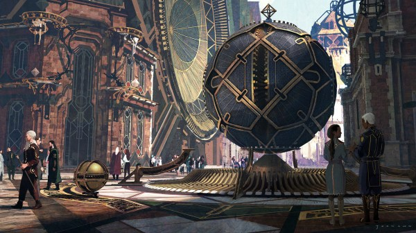 Steampunk Concept Art Cities