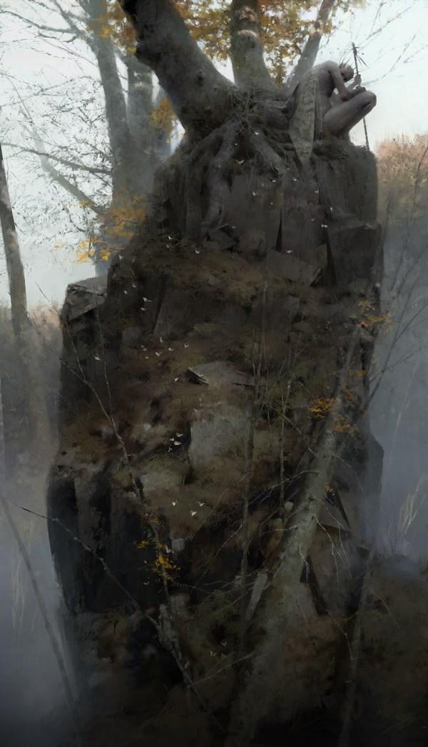 Dishonored 2 Serkonan Legends Artwork Piotr Jablonski