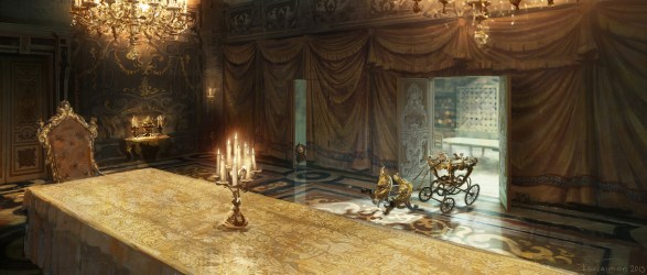 Beauty and the Beast Concept Art by Karl Simon Concept Art World