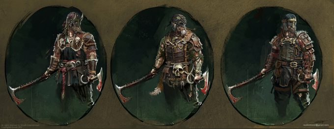 For Honor Concept Art By Remko Troost Concept Art World