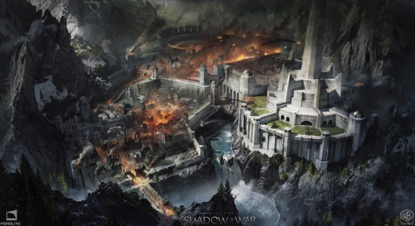 Shadow of War Middle Earth Concept Art