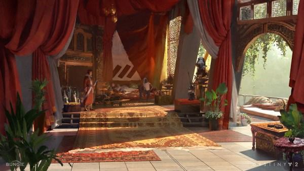 Destiny 2 Concept Art Sung Choi World