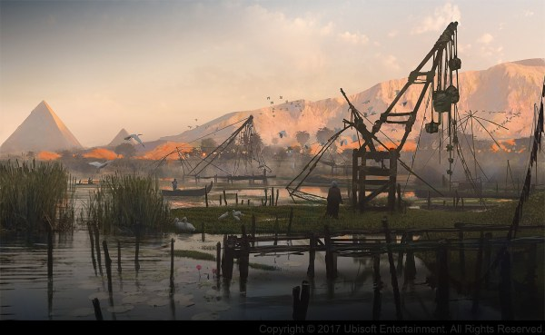Assassin's Creed Origins Concept Art