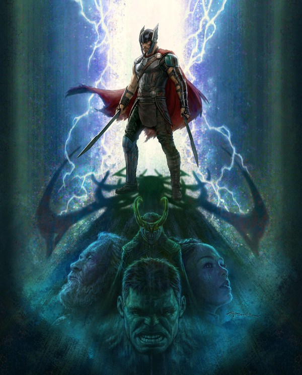 Ragnarok Thor Concept Art