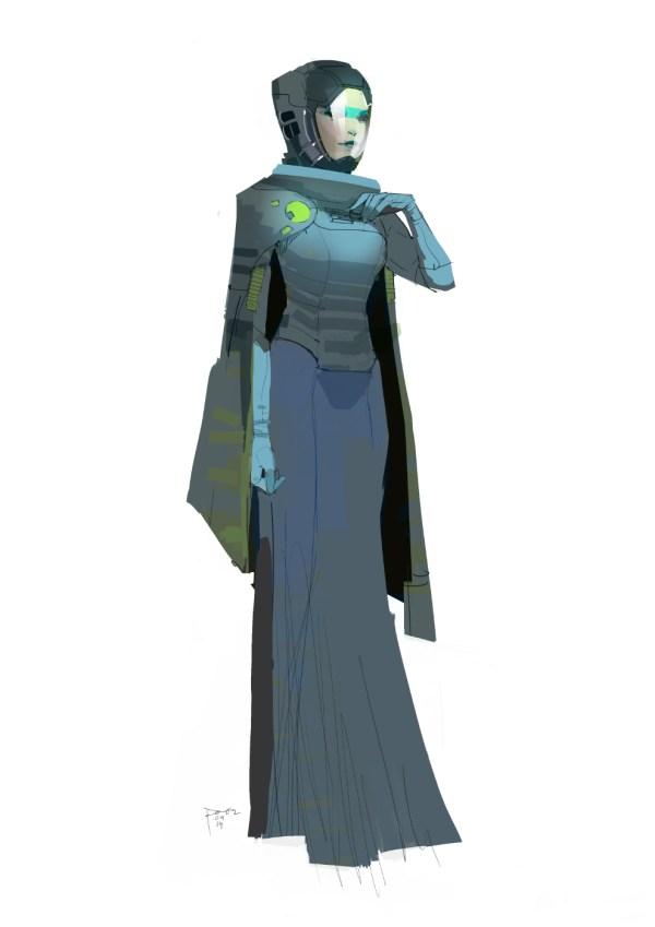 Star Wars Force Awakens Concept Art Dermot Power