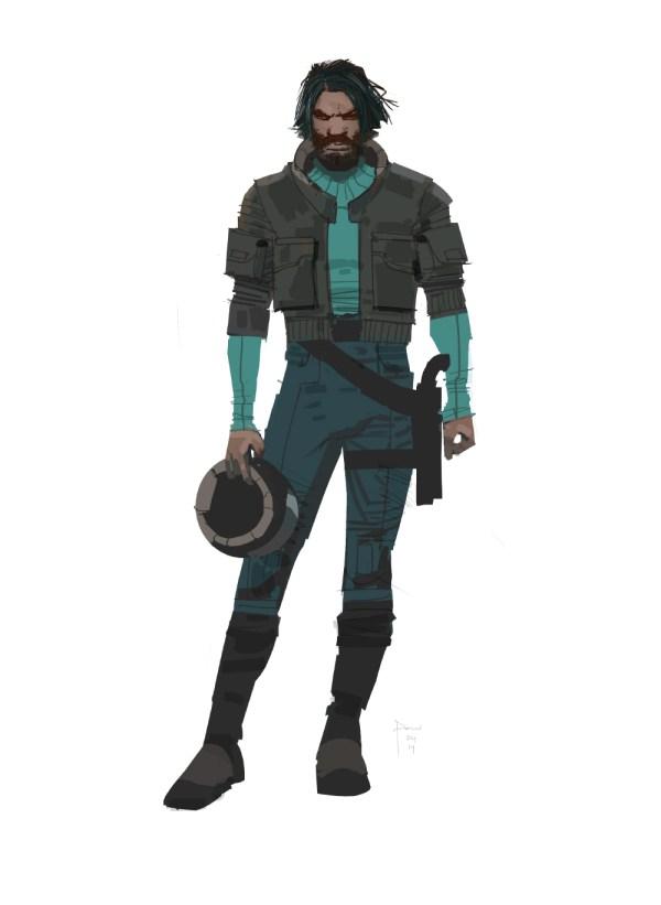 Awakens the Force Star Wars Concept Art