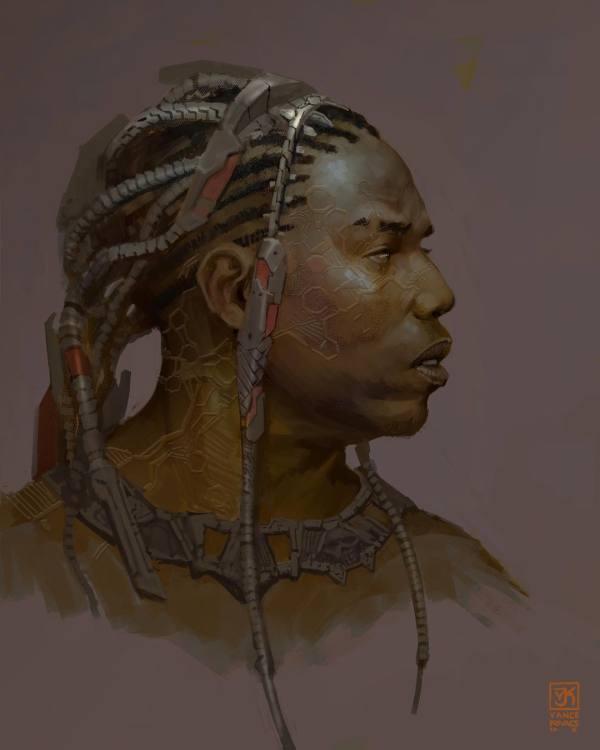 Black Panther Concept Art Vance Kovacs World