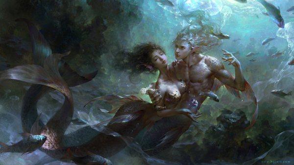 Mermaid Concept Art And Illustrations World